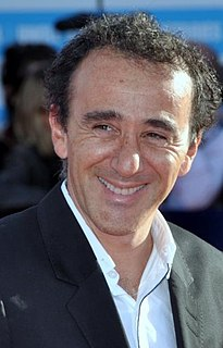 Élie Semoun French comedian, actor, director, writer and singer
