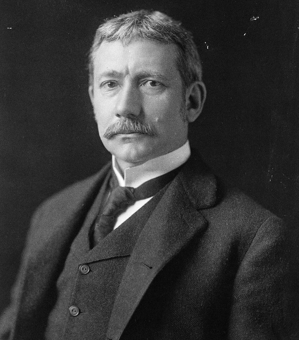 Elihu Root, bw photo portrait, 1902