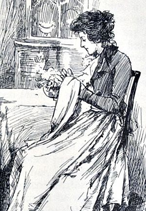 Elinor Dashwood - Elinor Dashwood by Chris Hammond, 1899