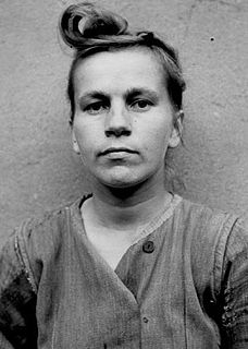 Elisabeth Volkenrath Female Nazi concentration camp guard