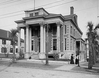 Elks Club Building (Jacksonville) - Elks' Club Building in 1905