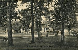 Sheffield, Massachusetts - Elm Court in 1920