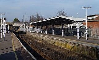 Elmers End station British railway station