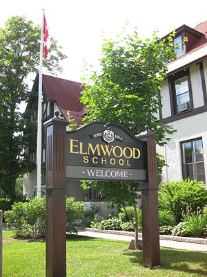 Elmwood School (Ottawa) - Image: Elmwoodschool