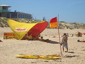 Elouera Beach - Image: Elouera Beach 2