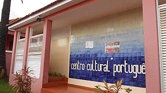 Instituto Camões - A Portuguese Cultural Center in Bissau, capital of Guinea-Bissau.