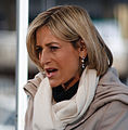 Emily Maitlis Reporting from Leadership Debate Bristol 2010.jpg