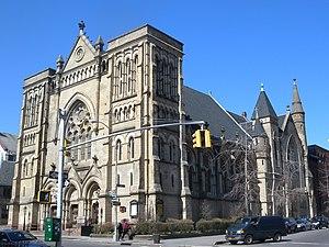 Emmanuel Baptist Church (Brooklyn) - Image: Emmanuel Baptist SE sun jeh
