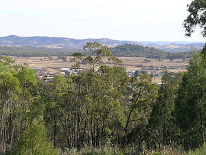 Emmaville, New South Wales - View of Emmaville
