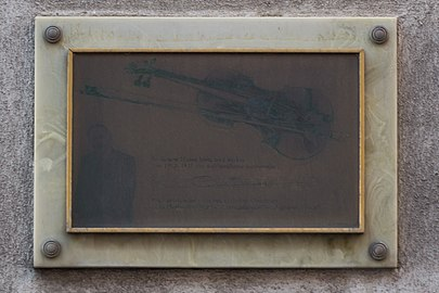 Emmerich Kálmán plaque.jpg