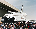 Endeavour rollout ceremony.jpg