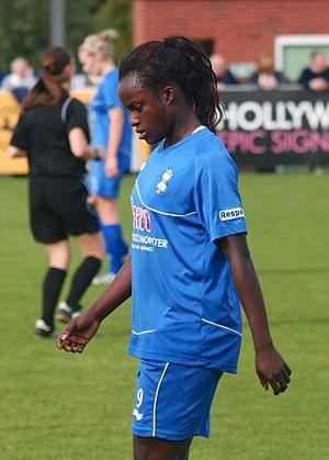Eniola Aluko - Eniola Aluko October 2012