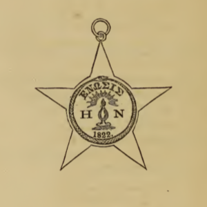 Enosinian Society - Image: Enosinian Society Seal