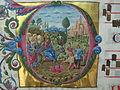 Enrico di amsterdam, graduale, 1486 ca. da duomo di Cesena, F, 02 entrata in gerusalemme.JPG