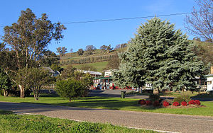 Ensay, Victoria - The township of Ensay on the Great Alpine Road