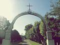 Entrada al Lugar del Milagro en Buenos Zelaya Aires.jpg