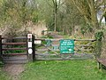 Entrance to Gazen Salts nature reserve - geograph.org.uk - 1289545.jpg