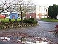 Entrance to Wellington School - geograph.org.uk - 1592601.jpg
