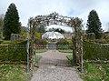 Entrance to the walled garden, Arlington - geograph.org.uk - 1825154.jpg