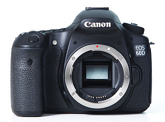 APS-C - The Canon EOS 60D, a typical APS-C format camera