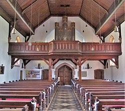 Erfweiler-Ehlingen Pfarrkirche St. Mauritius Innen 02.JPG