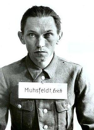 Aktion Erntefest - Executioner Erich Muhsfeldt at the Auschwitz Trial of 1947 in Kraków