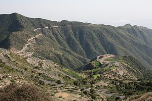 Eritrean mountai road archietcture
