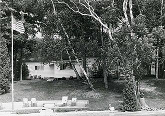 Ernest Hemingway Cottage - Cottage, looking north: 1974