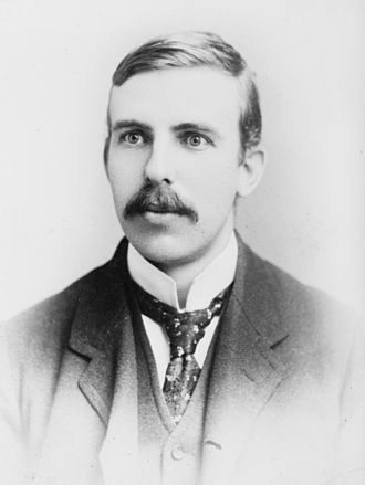 Age of the Earth - Ernest Rutherford in 1908.