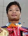 Ernie Gawilan Asian Games 2018 medals (cropped).jpg