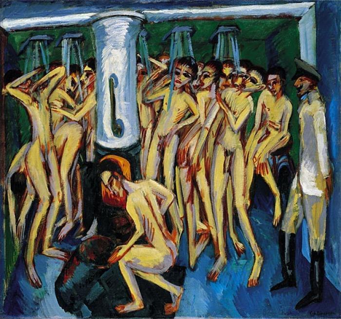 Ernst Ludwig Kirchner - Das Soldatenbad