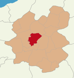 Erzurum location Yakutiye.png