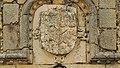 Escudo sobre la portada del castillo de San Silvestre.jpg