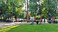 Esplanadi Park 21st July 2016 'Ascension of Polka Dots on the Trees' installation.jpg