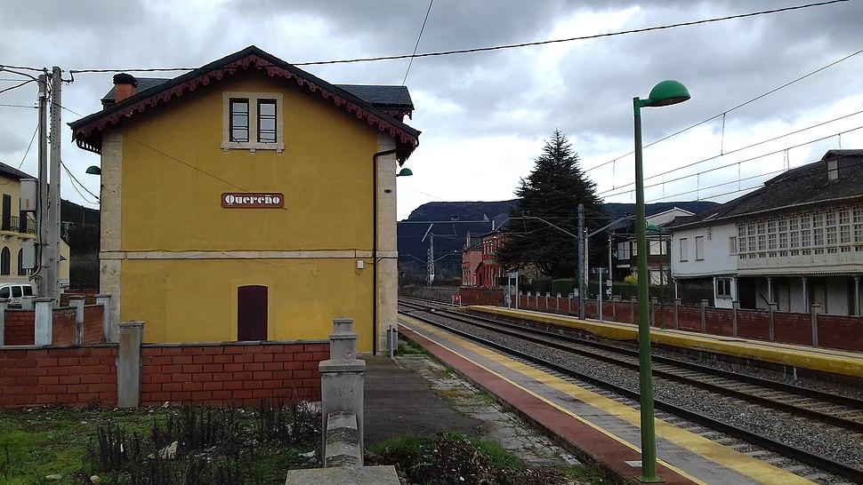 Estación de trens de Quereño