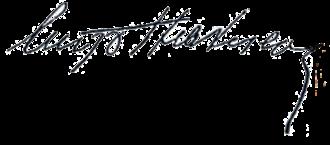 Eugeniu Stătescu - Image: Eugeniu Statescu signature