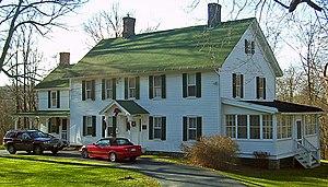 Everett-Bradner House - The house in late 2006