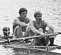 Evert Kroes and Peter van de Plas 1977.jpg