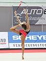 Evgenia Kanaeva Rhythmische Gymnastin RUS.JPG