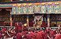 Examination of monks, Tashilhunpo Monastery, Shigatse, Tibet (12).jpg