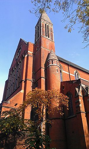 St John the Evangelist, Upper Norwood - Exterior