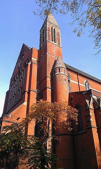 St John the Evangelist, Upper Norwood - Exterior
