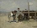 Ezelstandplaats op het strand te Scheveningen - hwm0218 - Van Gogh Museum.jpg