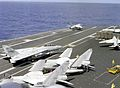 F-14As and A-7Es on USS Carl Vinson (CVN-70) in 1986.JPEG