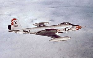 VFA-102 - VF-102 F2H-4 Banshee in 1956