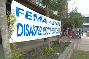Baton Rouge, La., September 16, 2005 - A banne...