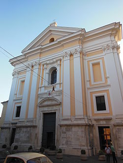 Facade of the cathedral.