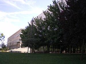 Português: Faculdade de Letras da Universidade...