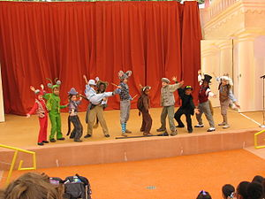 Children's Fairyland - Aesop's Playhouse performance, 2008