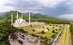 Faisal Mosque nestled in Margalla Hills.jpg